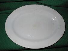 Piatto ovale ceramica S. C. Richard Oval Ceramic Plate C17