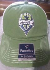 Seattle Sounders FC Fanatics Branded Adjustable Hat - Green - Snap Back