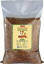 10lbs Bulk Non-Gmo Dried Mealworms for Reptile , Tortoise ; Amphibian ,Lizard.