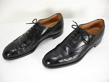 BROOKS BROTHERS DEVON LEATHER WINGTIP LACE FRONT OXFORD DRESS SHOES MEN'S 42 A