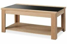 Rectangle Wood Less than 60cm Coffee Tables with Flat Pack