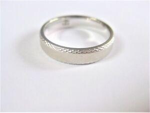 Ring White Gold 585 Nissing, 3,67 G