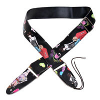 Adjustable PU Guitar Strap For Acoustic Electric Guitar Soft