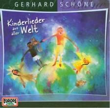 GERHARD SCHÖNE Kinderlieder Aus Aller Welt CD 1986 Kinder DDR * NEU