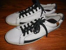"""Men's 7 for All Mankind """"Calvin"""" Sneaker / Shoe Size 12  White/Navy"""