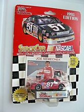 #87 JOE NEMECHEK - DENTYNE CHEVY - RC1993 1:64 CAR w/card -DARK WINDOWS -NASCAR
