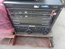 HP A7503 SWITCH  JD240B, H3CS7503E, WITH  CARDS  2 x LSQ1SRP2XB0 ,2 x LSQ1V48SD0