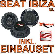 boxeo 165mm componentes front//Heck Seat Ibiza 6l 02-08 Pioneer altavoces