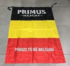 """DRAPEAU FLAG BIERE BELGE BLONDE BEER BIER PRIMUS HAACHT """" PROUD TO BE BELGIAN """""""