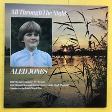 Aled Jones - All Through The Night - BBC REH-569 Ex+ Condition Vinyl LP