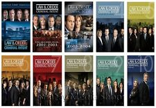 New & Sealed TV Complete Law & Order Criminal Intent Series Seasons 1 - 10 DVD