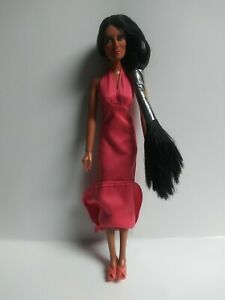 """Cher Pink Halter Dress 12"""" Doll Mego Corp Vintage 1975 with Heels"""