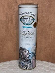 Boite BOWMORE n°2 en métal whisky whiskey tin dose