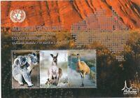 UNO Kleinbogen zur Briefmarkenmesse in Melbourne 2017