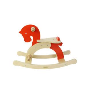 NEW Masterkidz Wooden Rocking Horse Toddler Kids Toys