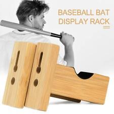 Baseballschläger Rack Wandhalterung horizontale Klammern Kleiderbügel Halter