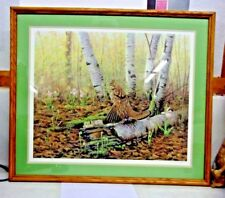 flowers surreal landscape /'Tree of Life/' Limited Signed Print by Jessie Edsall