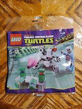 LEGO TMNT Kraang's Turtle Target Practice 30270 Polybag - New & Sealed