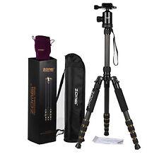 ZOMEi Z669C Portable Carbon Tripod Monopod Ball Head Compact for Canon Camera