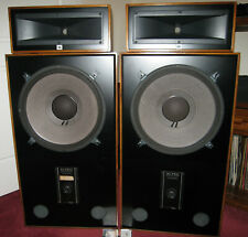 """Jbl Loudspeakers (Pair) 15"""" bass 2-Way with Horn Loaded Drivers."""