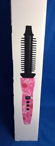 CALISTA PERFECTOR PRO HEATED ROUND BRUSH WITH BAG AND ORIGINAL BOX - NEW! Pink