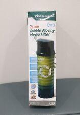 Ziss  ZB-300 Bubble Moving Media Filter Pet Aquariums Supplies Fish