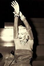 "Vintage 1953 MARILYN MONROE Diamonds Are A Girls Best Friend 4""x6"" Photo Reprint"