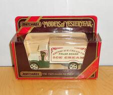 "Matchbox Models of Yesteryear Y30-1C 1920 AC MACK TRUCK ""ARCTIC ICE CREAM"""