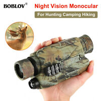 BOBLOV 5x32 16GB Night Vision Monocular Digital Infrared Night Scope for Hunting