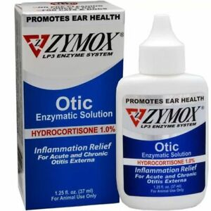 Zymoxa Otica  1.25 oz  exp 5/22