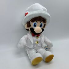 Super Mario Odyssey Mario White Costume Plush  Soft Toy Doll Teddy