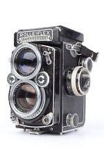 Rolleiflex 2.8E Xenotar 80mm f2.8 Medium Format TLR W/ WLF  As-Is *READ* #MRC