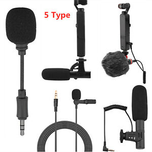 For DJI OSMO POCKET 2 Do-It-All Handheld Gimbal Camera 3.5mm Microphone Mic Set