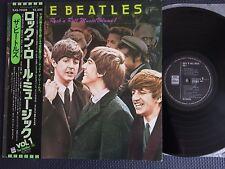 BEATLES ROCK N ROLL MUSIC VOL 1 JAPAN vinyl