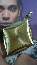 Large Vintage SHEFFIELD Swiss Made Gold Tone Wind Up Pendant Watch