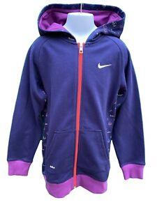 New NIKE LEBRON Unisex Hoodie Jacket Purple Violet 140-152 cm Age 10-12 Years