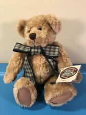 """Longaberger Homestead Ganz Cottage Collectibles 12"""" Jointed Plush Bear"""