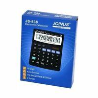 CALCOLATRICE ELETTRONICA 14FUNZIONI JOINUS JS-838