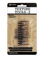 6 Texture Tools Use them w/ Ranger Texture Paste to create raised effects Set#2