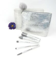 MAC Snowball Collection Dazzling Silver Basic Brush Set/ Kit NIB Limited Edition