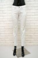 Pantalone Donna CARLO CHIONNA 9.2 Taglia 27 Pants Jeans Corto alla Caviglia