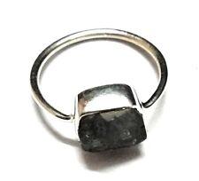 Labradorite Natural Handmade Gemstone  925 Sterling Silver Ring Size 6.5
