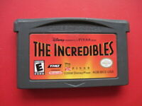 Incredibles Nintendo Game Boy Advance Disney Kids Pixar Movie Video Game