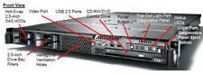€299+IVA Server 1U IBM System x3550 2x XEON 1.86GHz 8GB 4x146GB SAS RAID5/6/JBOD