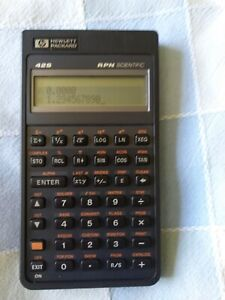 Hewlett Packard Scientific Programmable Calculator HP42s