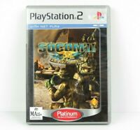Socom II US Navy Seals PS2 PlayStation 2 Game Complete PAL