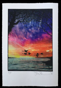 Stanley Donwood Signed Limited Edition Print Rise Radiohead Artist