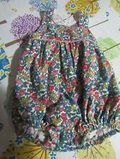 BABY GIRLS, BABY,MINI BODEN DITSY PRINT ROMPER AGE 3-6 MONTHS