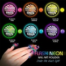 6 Pack - Mia Secret Flash Neon Acrylic Powder Set