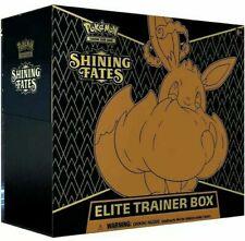 Shining Fates Elite Trainer Caixa-Pokémon Tcg-Novo em folha e lacrado de fábrica!